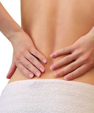 Back pain massage